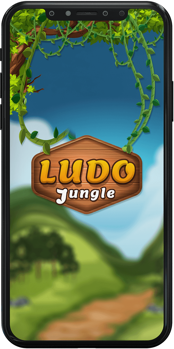 ludo game welcome image logo on iPhone